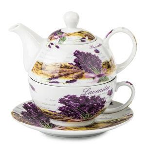 3-dielny čajový set Levanduľa,