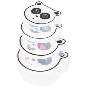 4-dielna sada desiatových dóz, Panda