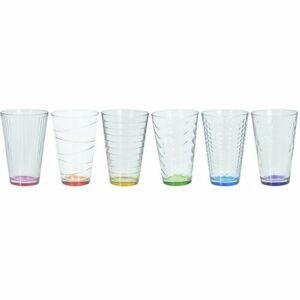 6-dielna sada pohárov Rainbow