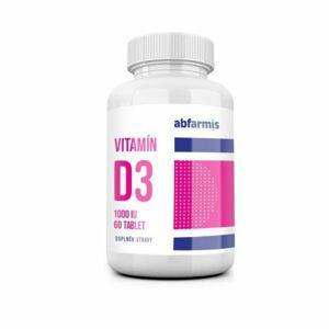 Abfarmis Vitamín D3 1000IU 60 tabliet