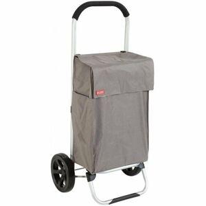 VIENA šedá nákupný vozík