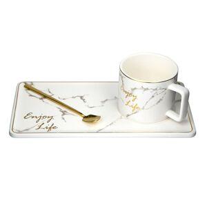 Alto Servírovacia čajová sada Marble Gold, 3 ks