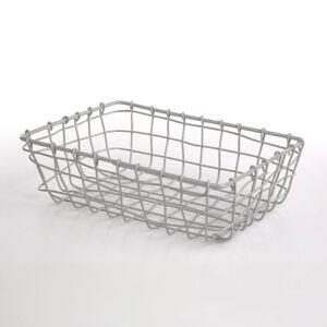 Altom Obdĺžnikový košík Grey, 26 x 19 x 8 cm
