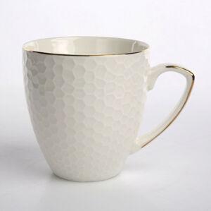Altom Porcelánový hrnček Honey goldline, 430 ml