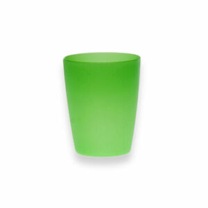 Altom Sada plastových téglikov 250 ml, 10 ks, zelená