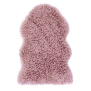 AmeliaHome Kožušina Dokka ružová, 50 x 80 cm