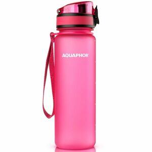 Aquaphor Filtračná fľaša City 0,5 l, ružová