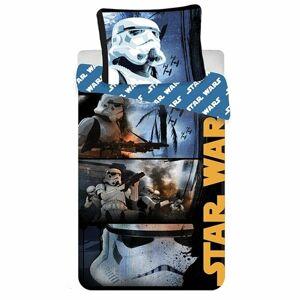 Jerry Fabrics bavlnené obliečky Star Wars Stormtroopers, 140 x 200 cm, 70 x 90 cm