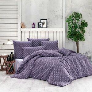 BedTex Bavlnené obliečky Brynjar fialová, 220 x 200 cm, 2 ks 70 x 90 cm