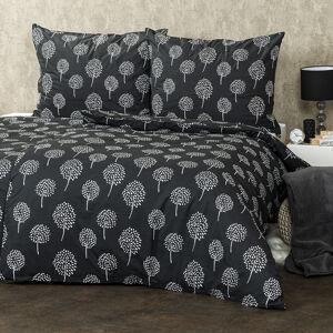 Trade Concept Bavlnené obliečky Floral, 220 x 200 cm, 2 ks 70 x 90 cm