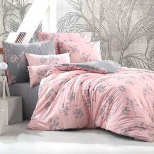 BedTex Bavlnené obliečky Idil staroružová, 140 x 200 cm, 70 x 90 cm