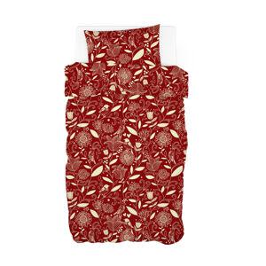 Trade Concept Bavlnené obliečky Velvet Spring červená, 140 x 200 cm, 70 x 90 cm