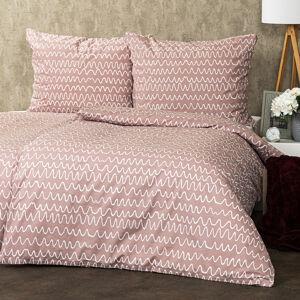 Trade Concept Bavlnené obliečky Wave, 220 x 200 cm, 2 ks 70 x 90 cm