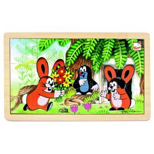 Bino Puzzle Krtko a zajačiky