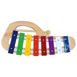 Bino Xylofón kovový oblúkový
