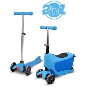 Buddy Toys BPC 4310 Kolobežka Taman 2v1 modrá