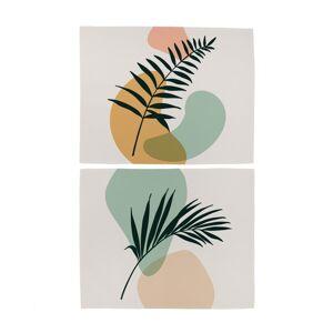 Butter Kings Prestieranie Botanical art, 35 x 45 cm, sada 2 ks