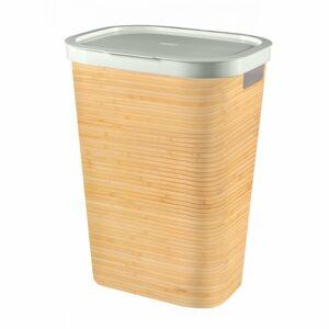 Curver Kôš na špinavú bielizeň vzor bambus INFINITY, 59 l