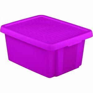 Curver Úložný box Essentials s vekom 20 l, fialová