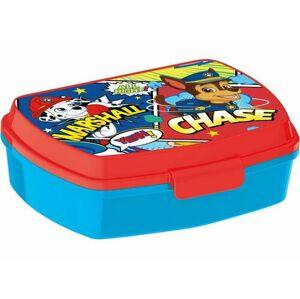 Desiatový box Paw Patrol 17,5 x 14,5 x 6,5 cm, modrá