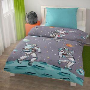 Kvalitex Detské bavlnené obliečky SPACE, 140 x 220 cm, 70 x 90 cm