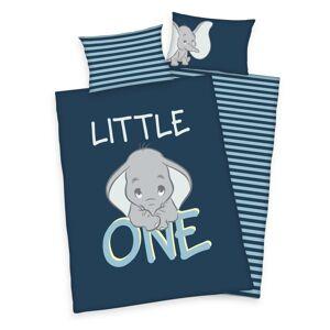 Herding Detské bavlnené obliečky do postieľky Dumbo Little one, 100 x 135 cm, 40 x 60 cm