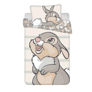 Jerry Fabrics Detské bavlnené obliečky do postieľky Thumper baby, 100 x 135 cm, 40 x 60 cm