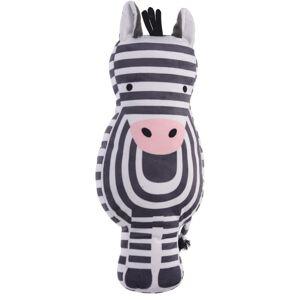 Plyšová zebra, 40 x 50 x 9 cm