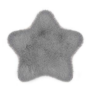 Domarex Kožušina Soft Star Plush sivá, 60 x 60 cm