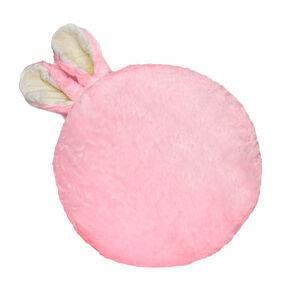 Domarex Vankúšik Soft Bunny plus ružová, priemer 35 cm