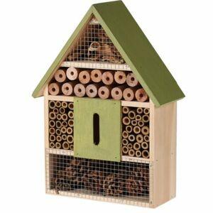 Domček pre hmyz zelená, 22 x 9 x 30 cm