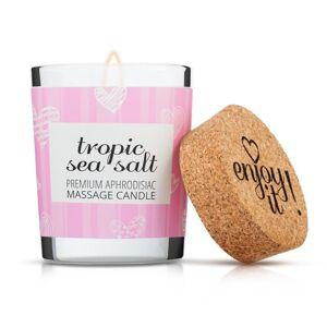 Enjoy it! Masážna sviečka Tropic sea salt, 70 ml