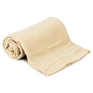 Jahu Fleecová deka UNI béžová, 150 x 200 cm