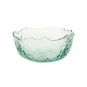 Florina Sklenená šalátová miska 16 cm, zelená