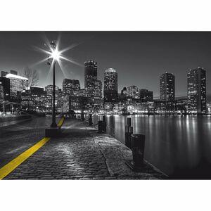 AG Art Fototapeta XXL Bostonské nábrežie 360 x 270 cm, 4 diely