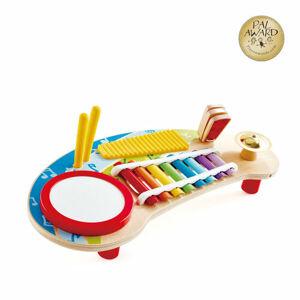 Hape Multifunkčná xylofón s bubienkom, 44,5 x 21 x 10 cm