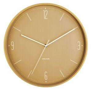 Karlsson 5735YE dizajnové nástenné hodiny, pr. 40 cm