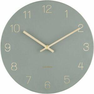 Karlsson 5788GR dizajnové nástenné hodiny, pr. 30 cm