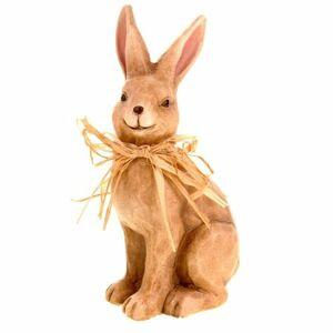Keramická dekorácia Zajac, 19 cm