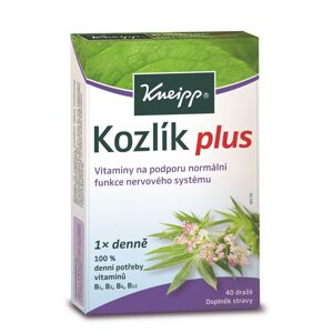 Kneipp Kozlík Plus 40 dražé