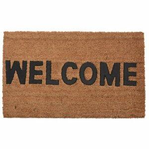 Kokosová rohožka Welcome 45 x 75 cm