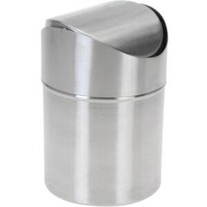 Kozmetický odpadkový kôš Coline, nerez, 12 x 16,5 cm