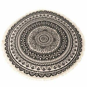 Dakls Kusový koberec Mandala hnedá, 82 cm