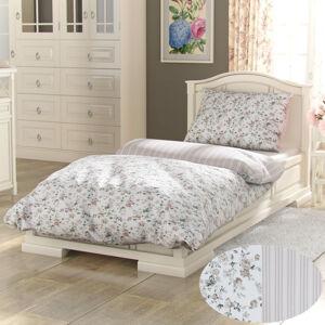 Kvalitex Bavlnené obliečky Provence Viento béžová, 200 x 200 cm, 2 ks 70 x 90 cm