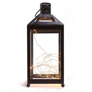 Lampáš do interiéru s LED diódami, 13,5 x 13,5 x 31,8 cm