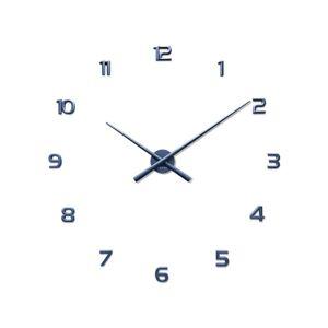 Lavvu LCT1172 Nalepovacie hodiny 3D Sticker Blue Numerals, modrá