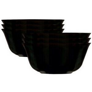 MäserSada misiek Carine 12 cm, 6 ks, čierna