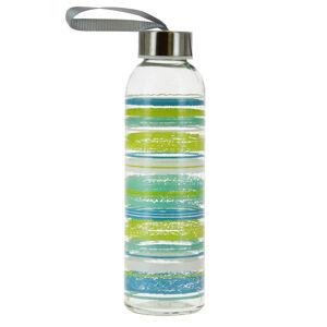 Mäser Sklenená fľaša Caraibi, 0,5 l, zelená