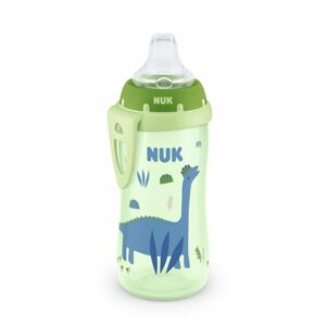 NUK First Choice Fľaša Active Cup 300 ml, zelená