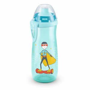 NUK First Choice Fľaša Sports Cup 450 ml, modrá